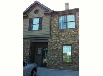 EasyRoommate US - Townhouse for Rent $320/mo - Kennesaw / Acworth, Atlanta - $320 pcm