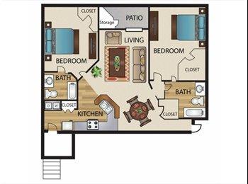 EasyRoommate US - 1 bedroom - North Dallas, Dallas - $520 pcm