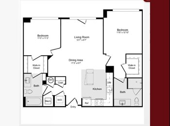 EasyRoommate US - Roommate Needed! Brand New Luxury Apartments - Alexandria, Alexandria - $1,230 pcm