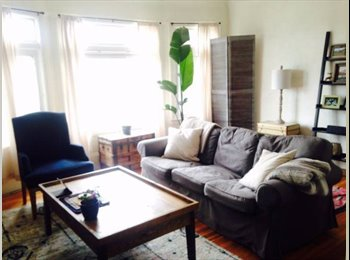 EasyRoommate US - Room available in Edwardian Flat - Richmond, San Francisco - $1,500 pcm