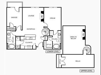 EasyRoommate US - Urban Living, in a Spacious loft style 2bd2bth - Central Phoenix, Phoenix - $825 pcm