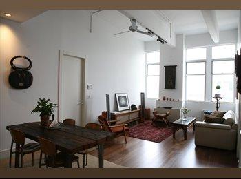 EasyRoommate US - Luxury Bldg. 2B/2Ba Loft Share - Williamsburg, New York City - $2,100 pcm