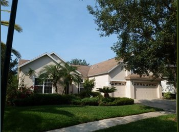 EasyRoommate US - 4 bedroom/3 car garage/office/bonus Arbor Greene - New Tampa, Tampa - $2,150 pcm