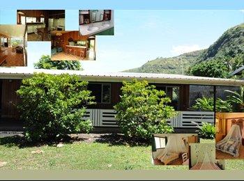 Appartager FR - COTE OUEST logement CONVIVIAL - PROXIMITE PLAGE - Punaauia, Polynésie Française - 630 € / Mois