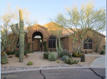 EasyRoommate US - Room to rent in N. Scottsdale Home - Scottsdale, Scottsdale - $800 pcm