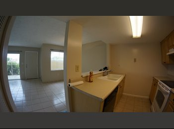 EasyRoommate US - Bedroom for rent in townhouse - Dade County, Miami - $700 pcm