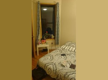 EasyRoommate US - 1 Br in 4br apt uptown - 1095 + ut - Harlem, New York City - $1,095 pcm