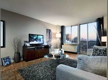 EasyRoommate US - Midtown west apt - Hudson and Times Square view! - Midtown West, New York City - $1,700 pcm