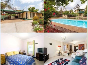 EasyRoommate AU - Large House for Easy Going Professionals - Araluen, Alice Springs - $200 pw