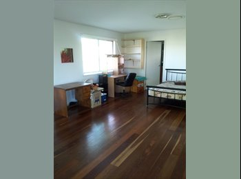 Large room. Seperate from main house. Own bathroom