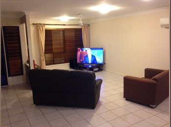 Room for rent with very clean friendly house mates