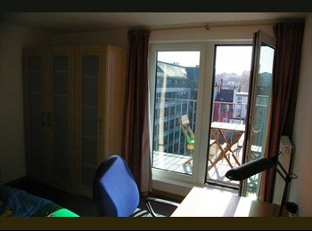 Appartager BE - BRUXELLES CENTRE - Chambre - le Pentagone (centre ville), Bruxelles-Brussel - 500 € / Mois