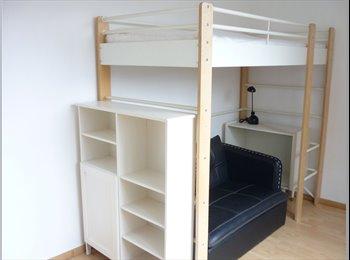 Appartager BE - Kot meublé pour étudiant très proche IPKN - Charleroi, Charleroi - 325 € / Mois