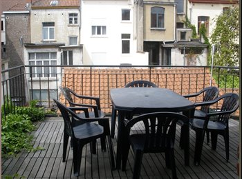 Appartager BE - Ixelles Mansion with super terrace - Ixelles-Elsene, Bruxelles-Brussel - 500 € / Mois
