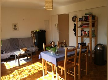 Appartager BE - Room to rent in pleasant flat Place jourdan - Bruxelles-Brussel, Bruxelles-Brussel - 500 € / Mois