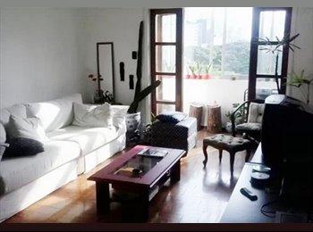 EasyQuarto BR - Quarto bem pequeno ( só mulheres ) - Consolação, São Paulo capital - R$ 800 Por mês
