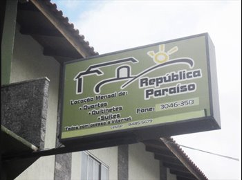EasyQuarto BR - habitaçao estudantil para rapazes - Itajaí, Vale do Itajaí - Blumenau - R$ 470 Por mês