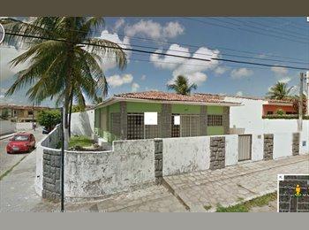 EasyQuarto BR - Casa em Mangabeira (Próximo ao Mercado) - Outros, João Pessoa - R$ 250 Por mês