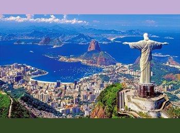 EasyQuarto BR - Quarto Tijuca para rapazes - Tijuca, Rio de Janeiro (Capital) - R$ 980 Por mês
