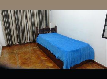 EasyQuarto BR - ÓTIMO QUARTO NO HUMAITA - Humaitá, Rio de Janeiro (Capital) - R$ 1.900 Por mês