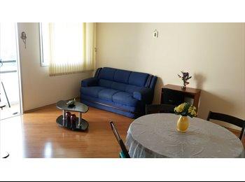 apartamento mobiliado com 3 ou 4 vagas para moças
