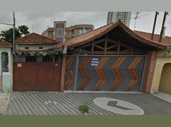 EasyQuarto BR - casa com garagem ao lado da UFABC - Santo André - Santo André, RM - Grande São Paulo - R$ 880 Por mês