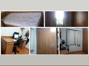EasyQuarto BR - Alugo quarto INDIVIDUAL e Mobiliado - Ouro Preto, Belo Horizonte - R$ 900 Por mês