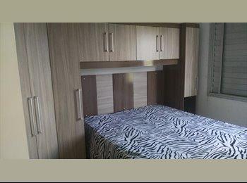 EasyQuarto BR - Divisão de apartamento - Santo André, RM - Grande São Paulo - R$ 600 Por mês
