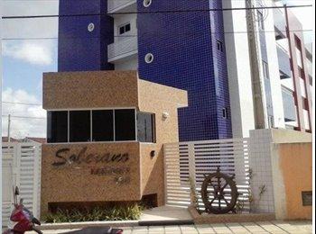 EasyQuarto BR - Aluguel de Quarto - pessoas que gostam de gatos ;) - João Pessoa, João Pessoa - R$ 370 Por mês