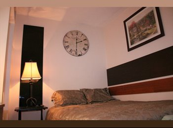 CLEAN,  FURNISHED JNR MASTER  BEDROOM /PRIVATE WC