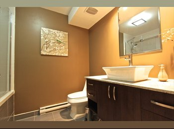 EasyRoommate CA - Great room at luxury furnished well located condo - Ville-Marie - Petite Bourgogne, Montréal - $1,150 pcm