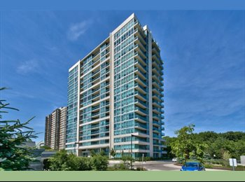 EasyRoommate CA -  Stonebrook Condo Room for Rent - 1055 Southdown R - Mississauga, South West Ontario - $850 pcm