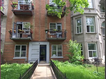 EasyRoommate CA - Beautiful furnished room facing the mountain - Le Plateau-Mont-Royal, Montréal - $600 pcm