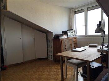 EasyWG CH - Magnifique Chambre à louer-Attique Lausanne centre - Lausanne, Lausanne - 1100 CHF / Mois