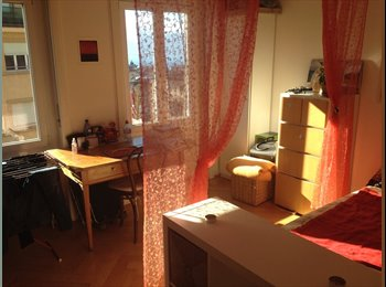 EasyWG CH - Chambre lumineuse, pour courte durée (3 mois Max) - Lausanne, Lausanne - 650 CHF / Mois