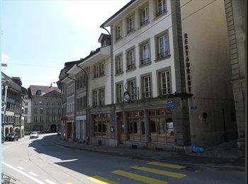EasyWG CH - Collocation à deux en centre ville de Fribourg - Fribourg, Saane - Sarine - 650 CHF / Mois