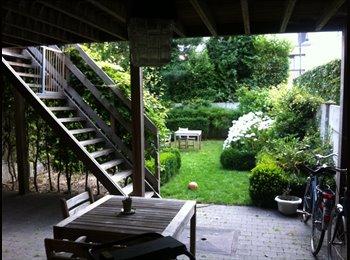 Studio (1p) met aparte badk/kkn/WC en tuin ANTWERP