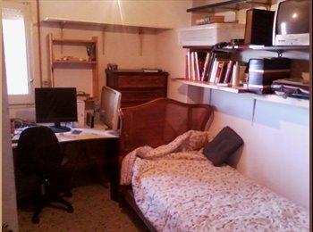 EasyPiso ES - Habitación en piso grande y tranquilo - Sarrià-Sant Gervasi, Barcelona - 150 € por mes