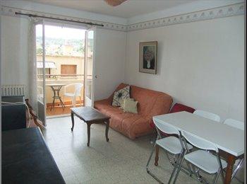 appartement moderne: 2 grandes chambres- 2 colocat