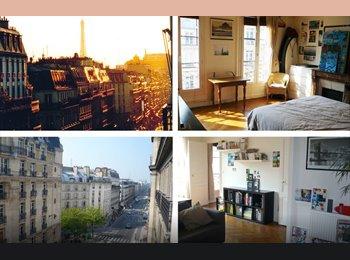 Appartager FR - Chambre a louer dans  appartement agréable a vivre - 10ème Arrondissement, Paris - Ile De France - 850 € / Mois