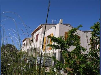 Appartager FR - Loue  Pezenas ville T1 meuble neuf sur jardin posible saison - Pézenas, Béziers - 490 € / Mois