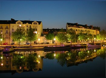 Appartager FR - Chambre lumineuse dans T5 - Nantes-Erdre, Nantes - 260 € / Mois
