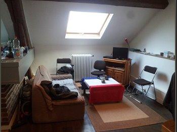 Appartager FR - Chambre libre centre ville dans coloc de 3 - Caen, Caen - 267 € / Mois