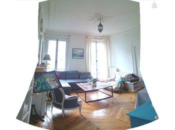 Appartager FR - Grande chambre dans haussmannien à Gare du Nord - 10ème Arrondissement, Paris - Ile De France - 826 € / Mois