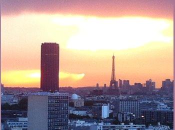 Appartager FR - COLOCATION 4 personnes - 75013 - FR and EN - 13ème Arrondissement, Paris - Ile De France - 570 € / Mois