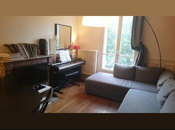 chambre à louer dans appartement de 55m2 Clichy place des...