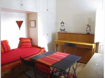Chambre dans appt 3 pièces, metro Les Sablons