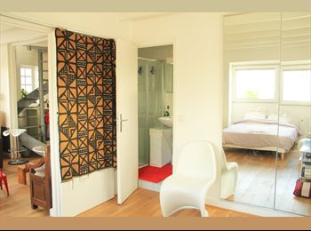 fully equipped bedroom with private shower