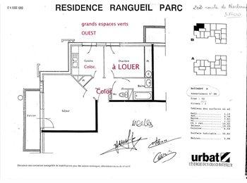 Appartager FR - Appartement T2bis : chambre à louer - Ramonville-Saint-Agne, Toulouse - 355 € / Mois