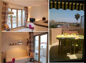 Appartager FR - 2 pièces cozy golfe-juan - Vallauris, Cannes - 620 € / Mois